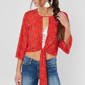 Red by BKE blouse
